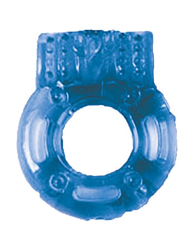 The Big O Macho - The Multi-Stage Reusable Blue Vibrating Ring