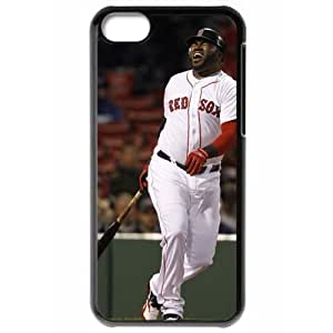 MLB Iphone 5C Black Boston Red Sox cell phone cases&Gift Holiday&Christmas Gifts NBGH6C9126605