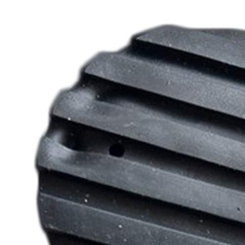 PETUNIA Scaletta telescopica Coprigambe Rotondo Scaletta Pieghevole Multifunzione Coprigambe a Forma di ventaglio Tappetino Antiscivolo Scala En135 Nero Universale