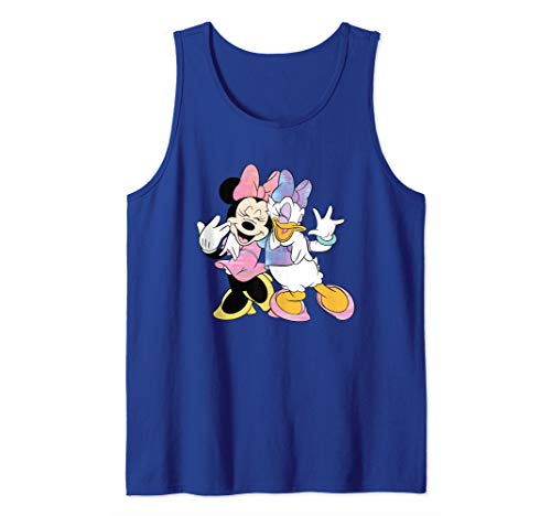 Disney Minnie Mouse and Daisy Duck Best Friends  Tank Top]()