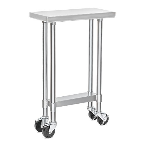 Apex Worktable Stainless Caster Wheels