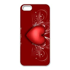 Custom VALENTINE'S DAY Back Cover Case for iphone5,5S JN5S-753