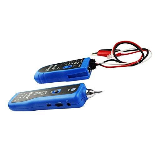 RJ11 RJ45 Cat5 Cat6 per cavo LAN 806B NF-Tester per linea telefonica-Rilevatore di cavi di rete LAN Ethernet Generatore di Scanner diagnostica con Kit attrezzi