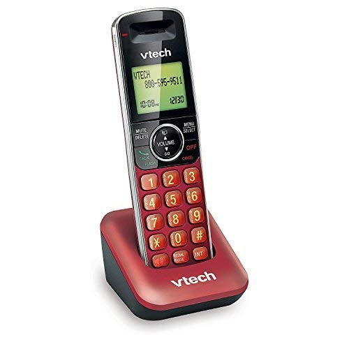 - VTech CS6409-16 Accessory Cordless Handset, Red | Requires a VTech CS6419 or CS6429 Series Cordless Phone System to Operate