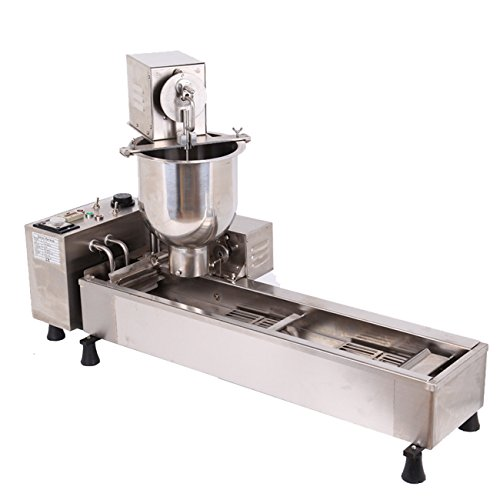 Ridgeyard Stainless Steel Commercial Donut Maker 3KW Automatic Donut Maker 7L Donut Making Machine with 3 Sets Mold ,Wide Oil Tank by Ridgeyard (Image #2)