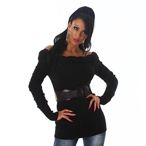Blanco Store Store Pull Blanco Pull Noir Femme Femme Za1gq7xZ