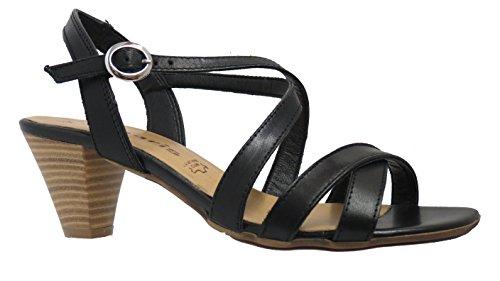 Tamaris 1-1-28361-32-001 - Sandalias de vestir para mujer 001 Black