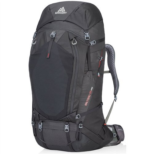 Gregory Mountain Products Men's Baltoro Pro 95 Liter Backpack, Volcanic Black, Large