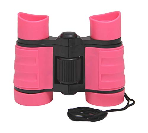 ESTAY Childrens First Toy Telescope - Hand held Pink Telescope for Beginners Kids Educational Light Telescope Power 4x30 (Pink) from ESTAY