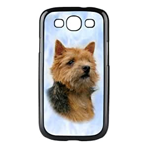 Custom Norwich Terrier Dog Hard Case Clip on Back Cover for Samsung S3 9300