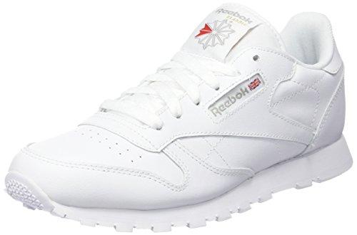 Reebok Classic Leather, Zapatillas de Running para Niños Blanco (White-1)