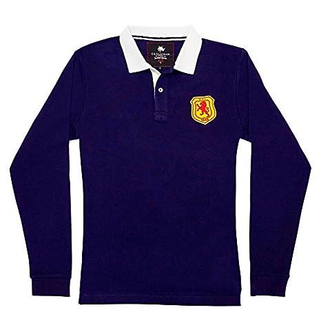 Coolligan 1949 Scotland, Camiseta para Hombre, Azul (Blue), (Tamaño del Fabricante:L): Amazon.es: Ropa y accesorios
