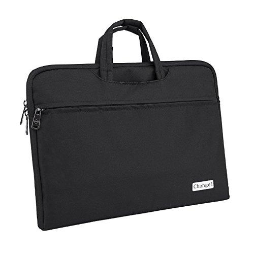Laptop Bag, changel 15.6 inch Laptop Case, Briefcase Messenger Shoulder Bag for Men Women, College Students Business People Office Workers Professional Computer, Notebook, Table, MacBook Bag, ()