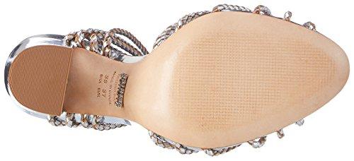 Schutz S2-01480088, Scarpe con Cinturino Donna Silber (Prata)