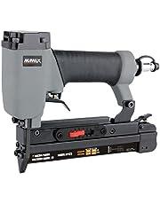 """Numax SP123 Pneumatic 23-Gauge 1"""" Micro Pin Nailer, Grey, Black"""