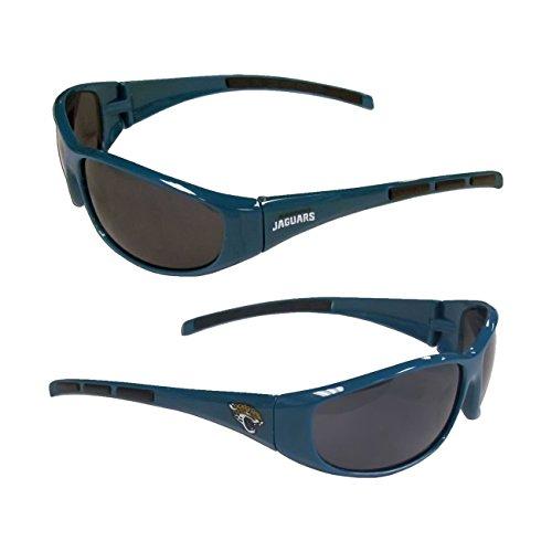 NFL 3-Dot Wrap Sunglasses (Jacksonville - Eye Glass Jacksonville