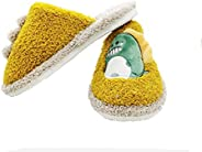 YWY Kids Cute Home Sandals Slippers Kid Fur Lined Winter House Slippers Warm Indoor Slippers