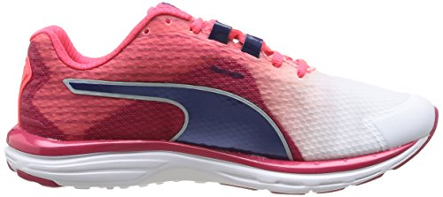 Laufschuhe Pink Damen v4 Wn White virtual bright Plasma 500 Puma Weiß blueprint 01 Faas XvBxwZ
