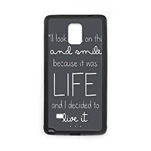 Samsung Galaxy Note 4 Cell Phone Case Black Ed Sheeran Quotes