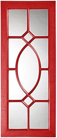 Howard Elliott 60108R Dayton Mirror, Glossy Red