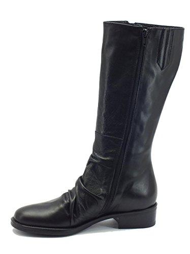 Nero Femme pour Bottes di Siviglia Fiori Noir Mercante Nero W6602 46Znwq