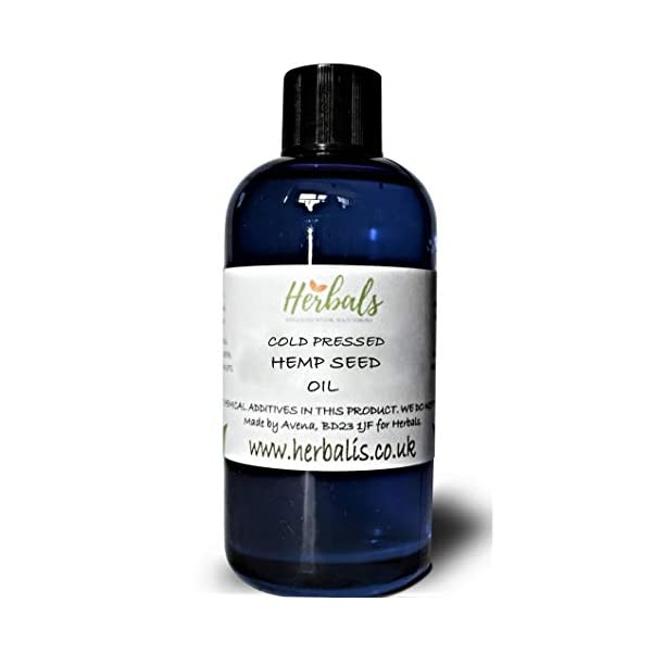Natural Hemp Seed Oil Cold Pressed. Cannabis Sativa. 100ml