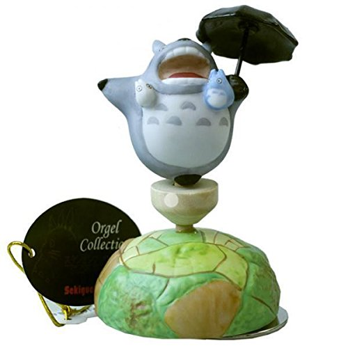 Studio Ghibli My Neighbor Totoro Ceramic Music Box (Totoro Flying) by Sekiguchi