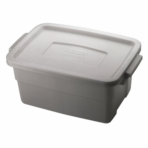 Rubbermaid FG221300STEEL Roughneck Container Polyethylene product image