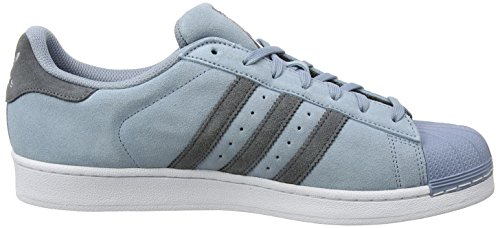 adidas Men's Superstar Running Shoes Blue (Tactile Blue/Onix/Onix) 2tlKQVm