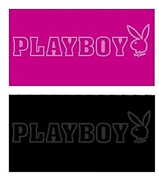 BETZ Toalla Playa Jacquard Playboy tamaño 90x170 cm de Color Negro y Rosa Color Rosa: Amazon.es: Hogar
