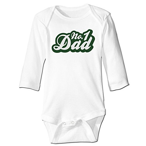 Price comparison product image Baboy No One Dads For 6-24 Months Baby Romper Jumpsuit 12 Months White