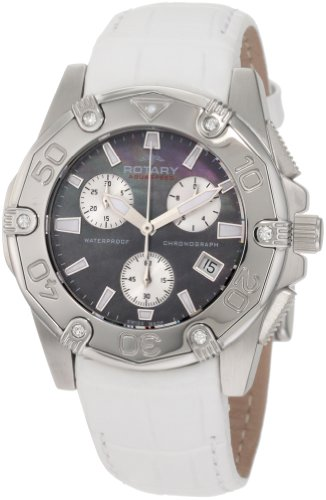 Rotary Women's ALS90033/C/38 Aquaspeed Sports Chronograph Strap Swiss-Made Watch