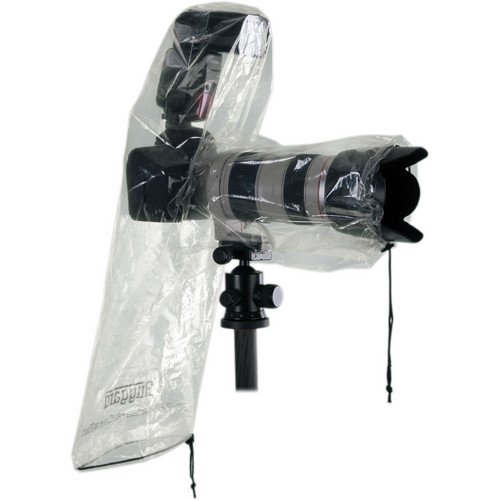 Ruggard RC-P18F Rain Cover for DSLR with Lens up to 18'' and Flash (Pack of 2)