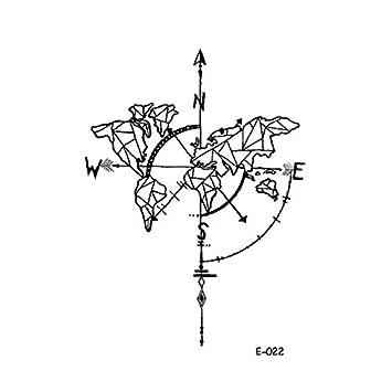 Etiqueta engomada del tatuaje temporal a prueba de agua Universe ...