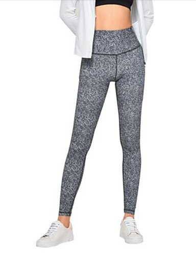 TT&NIUZAIKU Frauen Normale mittelhohe Mikro-elastische dünne Hosen, einfache Feste Baumwollfeder, grau, m