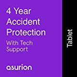 ASURION 4 Year Tablet Accident Protection Plan with Tech Support $1000-1249.99