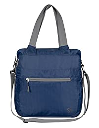Travelon 42815 340 Packable Crossbody Tote Bag, Royal Blue, One Size