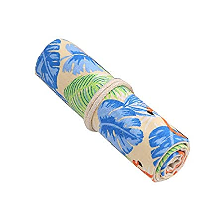 treestar Flamingo penna tenda Semplice fresca E incantevole cartoleria cinghie Creative tende matita borsa della penna alta capacit/à Studente cassetta di Matite 78cm*20cm blu