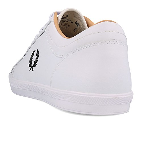 Fred Leather White White Perry Baseline wCqnZnxYH8