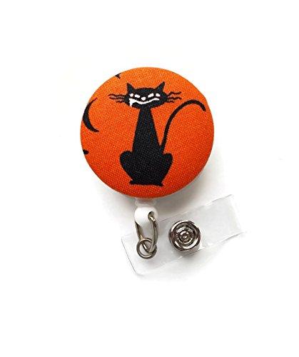 Alexander the Cat - Halloween Badge Reel - Retractable Id Badge