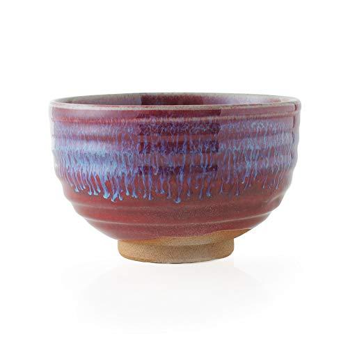 녹차 다완 아쥬반 VANT)Re: 아리타산 도자기 진사 환형말다완 (550cc) Japanese Powdered green tea Porcelain bowl Pottery/Size(cm) Φ12.6x7.7/No아쥬반 VANT)Re:771081