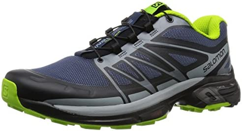 Salomon L38155500, Zapatillas de Trail Running para Hombre, Azul ...