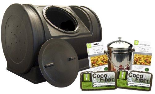 Good Ideas EZCJR-STA Compost Wizard Starter Kit - Agricultural Starter