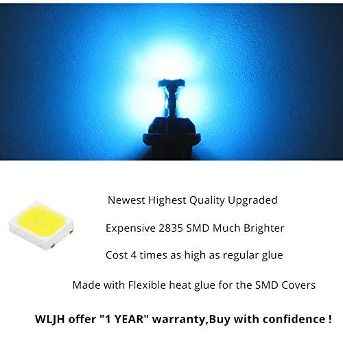 Wljh 13PIECES auto illuminazione LED pacchetto kit luce LED interna per X1/E84/2010/2011/2012/2013/2014/2015