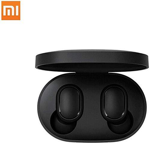 Xiaomi Redmi Airdots Earphones, Bluetooth, Sweatproof, True Wireless Earbuds, Global Version - Black