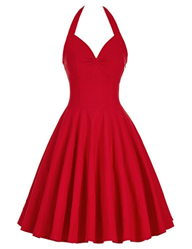 Buy dress with a full skirt - 6