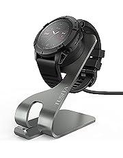 TUSITA Oplaadkabel Compatibel met Garmin Fenix 6 6S 6X Pro 5X Plus,Forerunner 945 45 45S 245,Vivosport,Instinct,Vivoactive 3 4S, Aluminium Laadstation voor Vivomove 3 3S Style,Venu Sq,Approach S10 S60