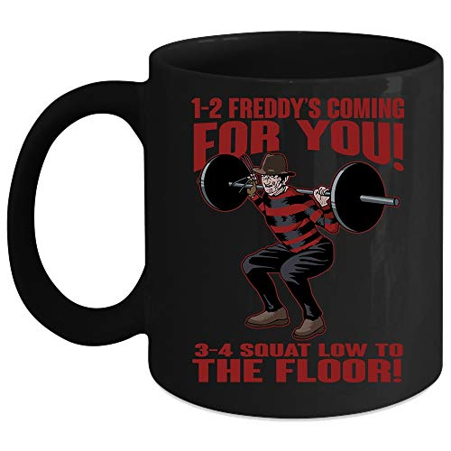 1-2 Freddy's Coming For You 3-4 Squat Low