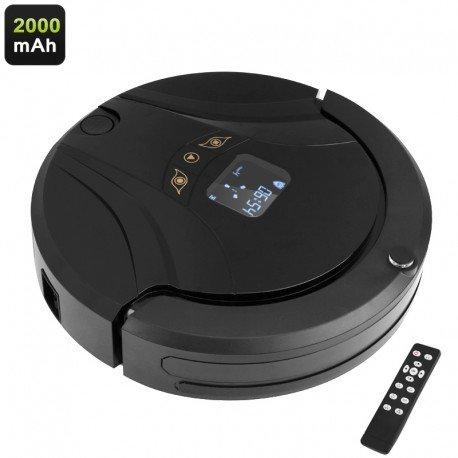 Aosder robot aspirador - 800Pa succión, recarga automática, 2000mAh, limpieza 4 modos, Control remoto: Amazon.es: Electrónica