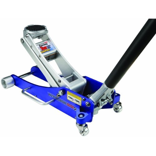 2 Tons Aluminum Racing Floor Jack With Rapid Pump by Pittsburgh Automotive